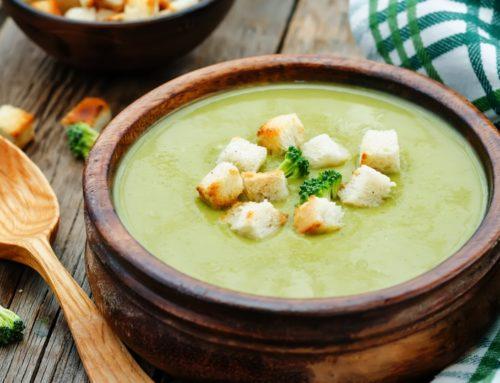 Supă- cremă de broccoli