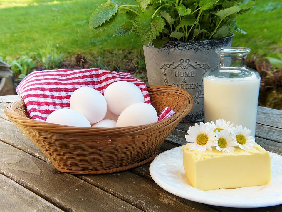 Produse lactate si oua