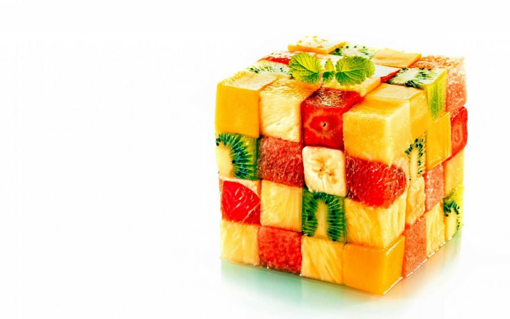 8758_A-cube-made-of-pieces-of-fruits-Abstract-wallpaper