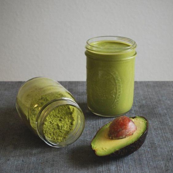 shake cu spanac si avocado