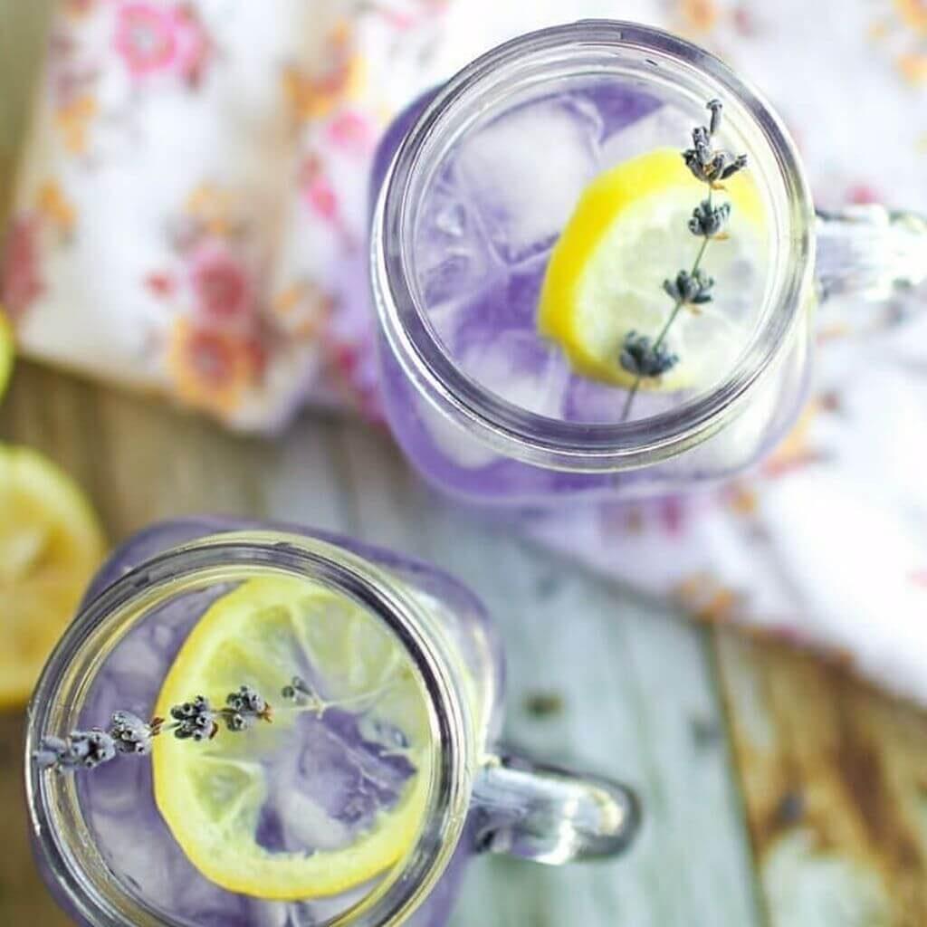 rețete limonadă cu lavandă