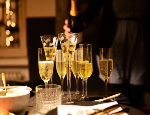 Vin spumant: 5 rețete alături de care îl poți servi