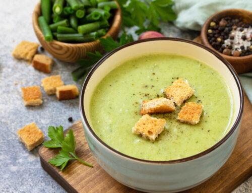 Supă de fasole verde – rețete rapide