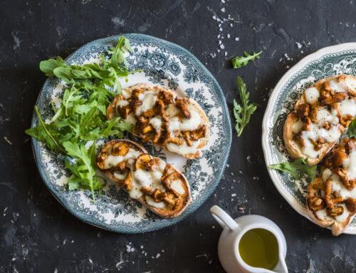 5 rețete de aperitive cu ciuperci gustoase și sănătoase
